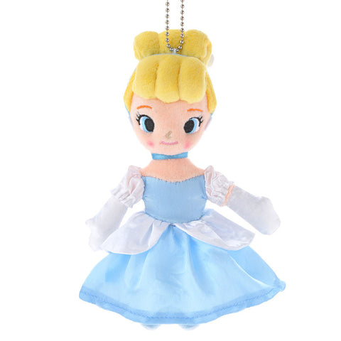 Disney Store Japan Cinderella Plush soft doll Key Chain Strap Mascot