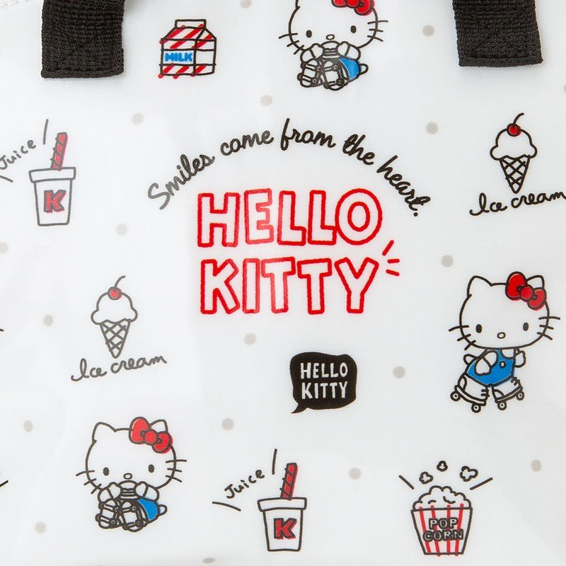 Hello Kitty Lunch Tote Bag Sanrio Japan 2019
