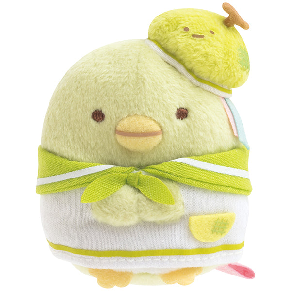 Sumikko Gurashi Penguin ? mini Tenori Plush Doll Penpen Fruits San-X Japan