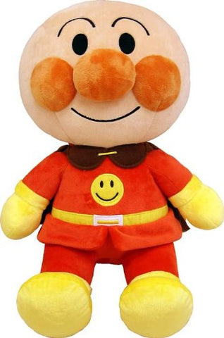 Anpanman Plush Doll Smile Soft M Japan