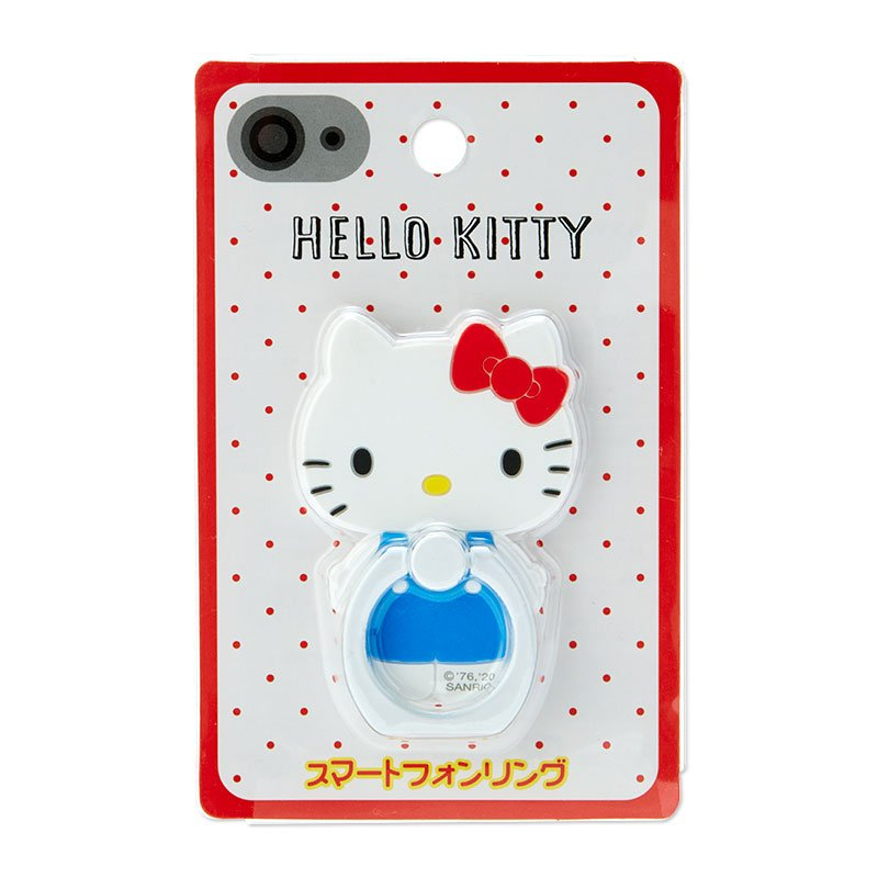 Hello Kitty Smartphone Ring Character Shape Sanrio Japan