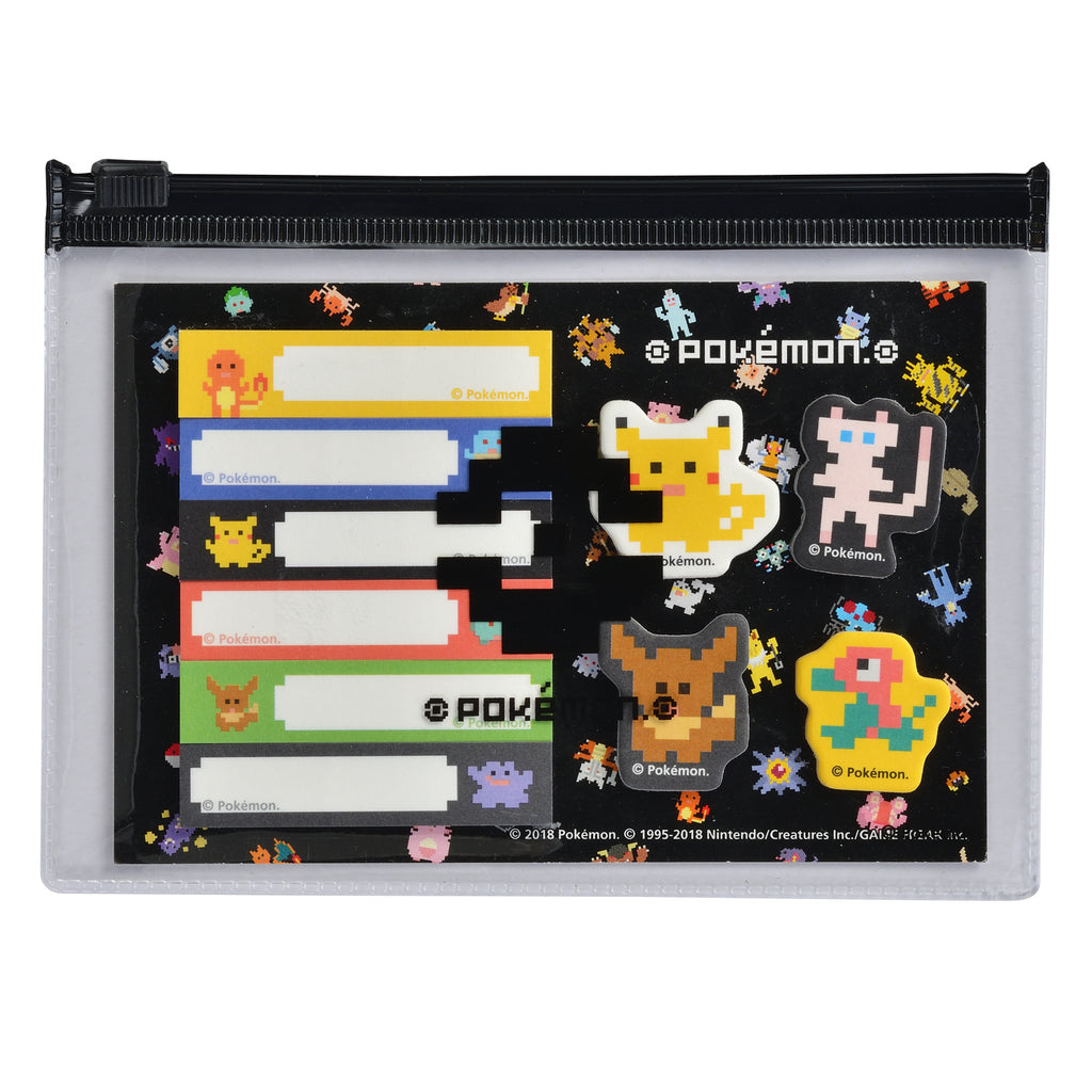 Sticky Memo Set BL Pokemon Block Center Japan Original