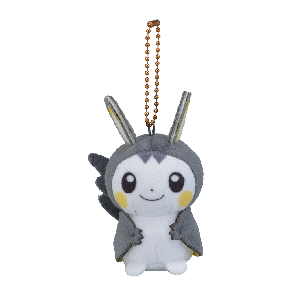 Emolga Emonga Plush Keychain HOPPE DAISHUGO Pokemon Center Japan Original