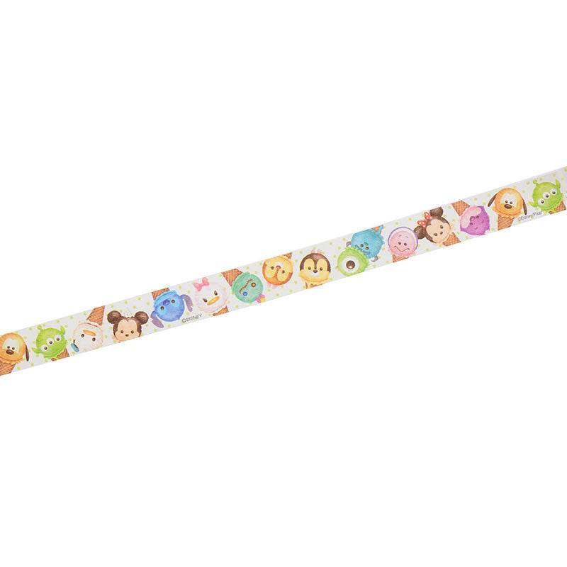 TSUM TSUM ICE Disney Characters Masking Tape Sticker Disney Store Japan