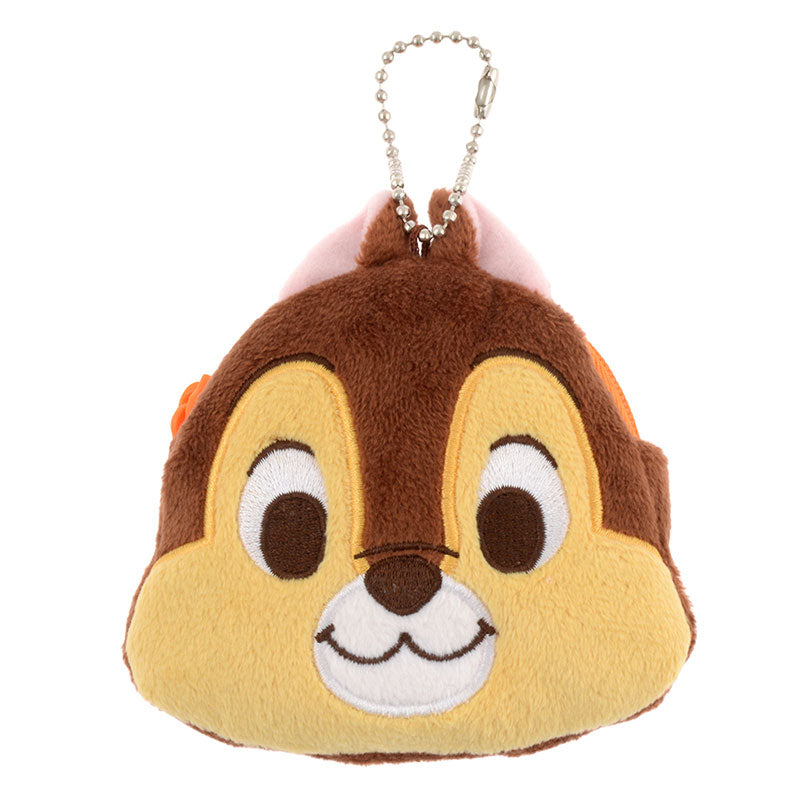 Chip Keychain Key Holder Pouch Bag Accent Disney Store Japan