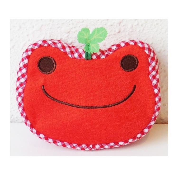 Pickles the Frog Pouch Strawberry Red Fruit Parlor Japan