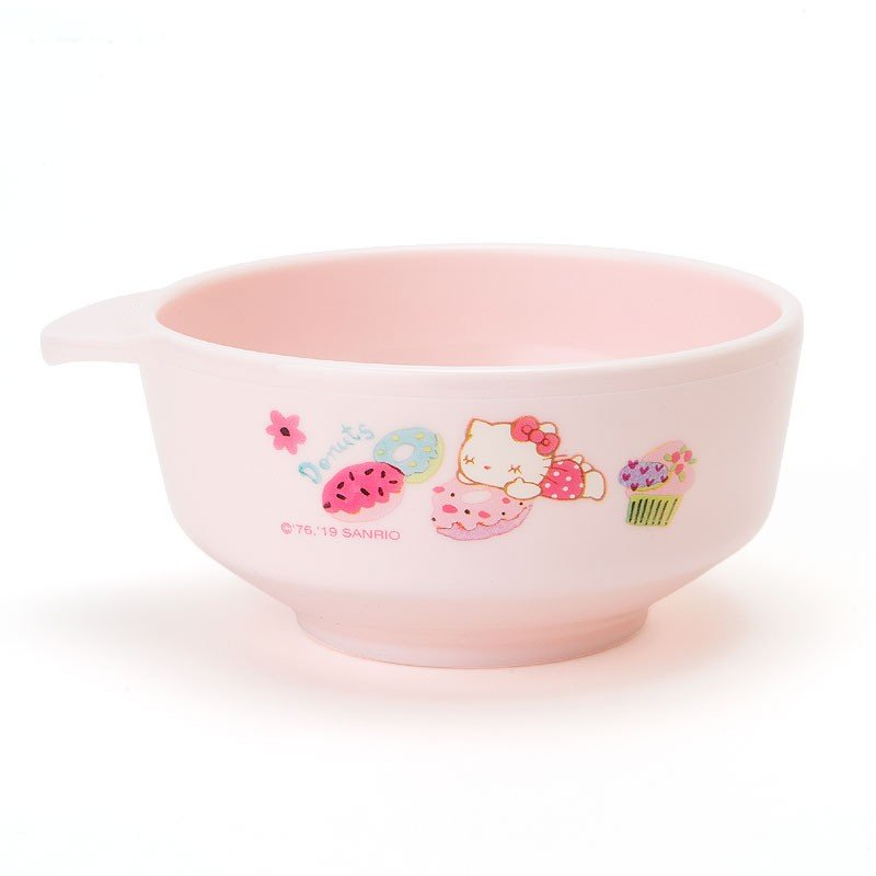 Hello Kitty Plastic Bowl Sanrio Japan Baby Feeding