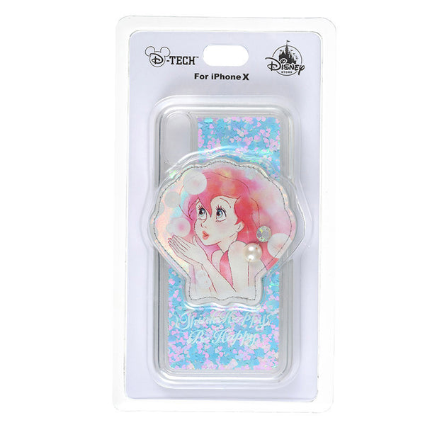 Ariel iPhone X Case Cover THE LITTLE MERMAID 2018 Disney Store Japan