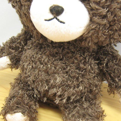 Jackie Mokomoko Fluffy Plush Doll S Smile the bears' school Japan