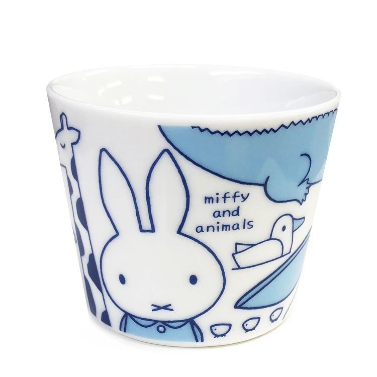 Ceramic Multi Cup Miffy & Animals Japan