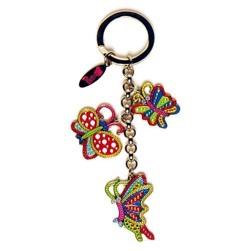 Yayoi Kusama Key Ring Butterfly Pumpkin Japan Artist