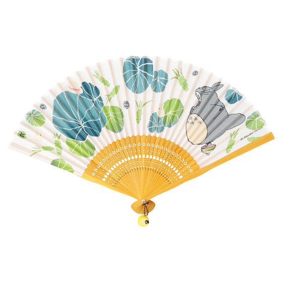My Neighbor Totoro Folding Hand Fan Wasabi Studio Ghibli Japan