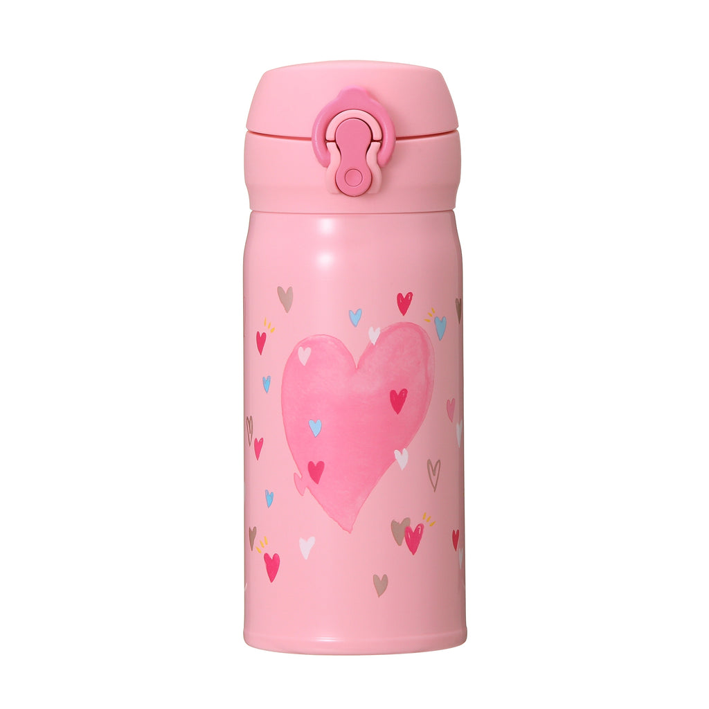 Handy Stainless Bottle 350ml Pink Valentine's Day 2019 Starbucks Japan Thermos