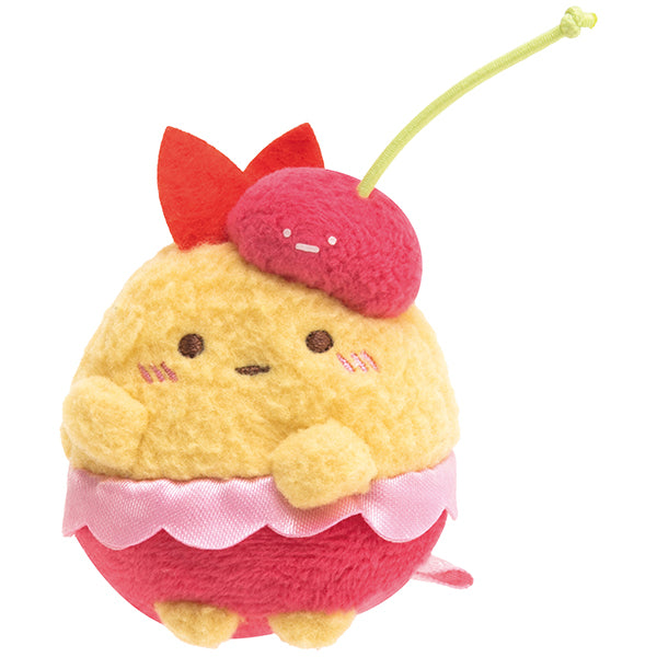 Sumikko Gurashi Fried Shrimp mini Plush Doll Penpen Fruits Vacation San-X Japan