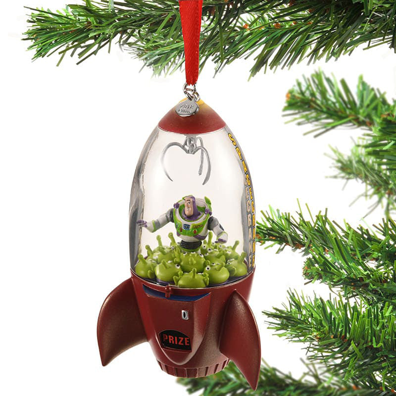 toy story alien buzz lightyear christmas tree ornament disney store japan 2018