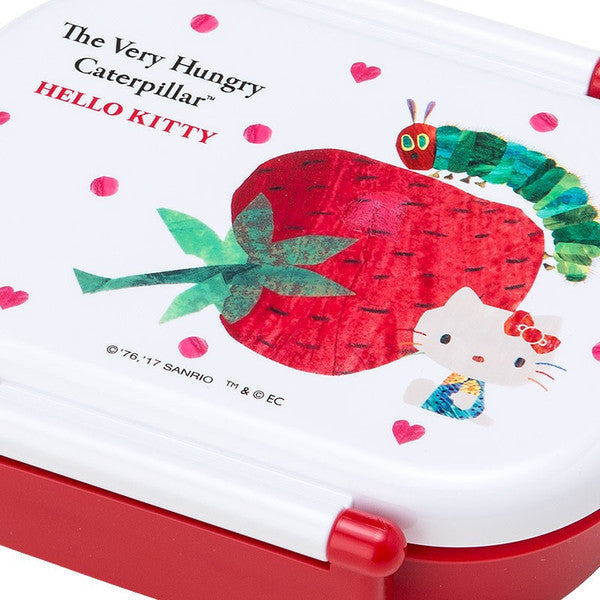 Hello Kitty The Very Hungry Caterpillar Lunch Box Bento DX Heart Sanrio Japan