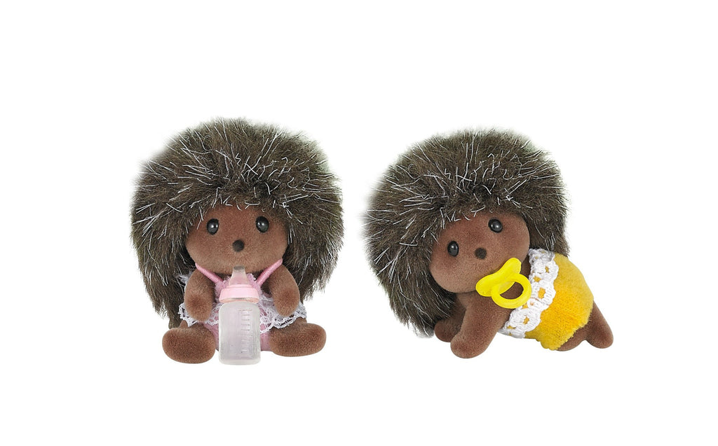 Hedgehog Doll Baby Twins He-06 Sylvanian Families Japan Calico Critters