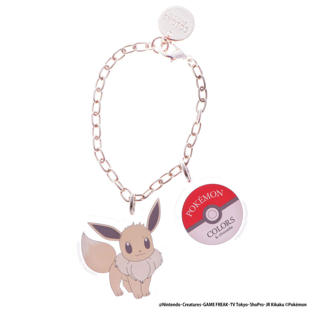 Eevee Eievui Acrylic Charm Eievui & Friends COLORS & chouette Japan Pokemon