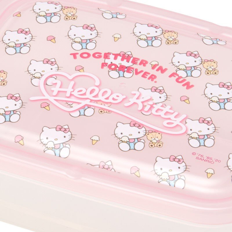 Hello Kitty Storage Container 2pcs Set Sanrio Japan