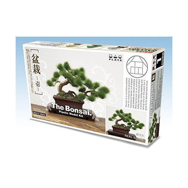 1/12 The Bonsai 1 Matsu Plastic Model Kit BON-01 Platz Japan