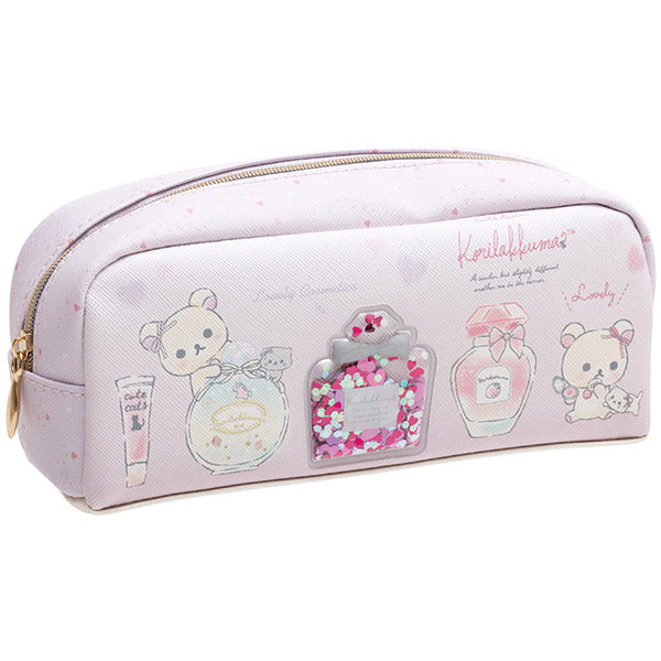 Korilakkuma in the Mirror Pen Case Pencil Pouch San-X Japan Rilakkuma