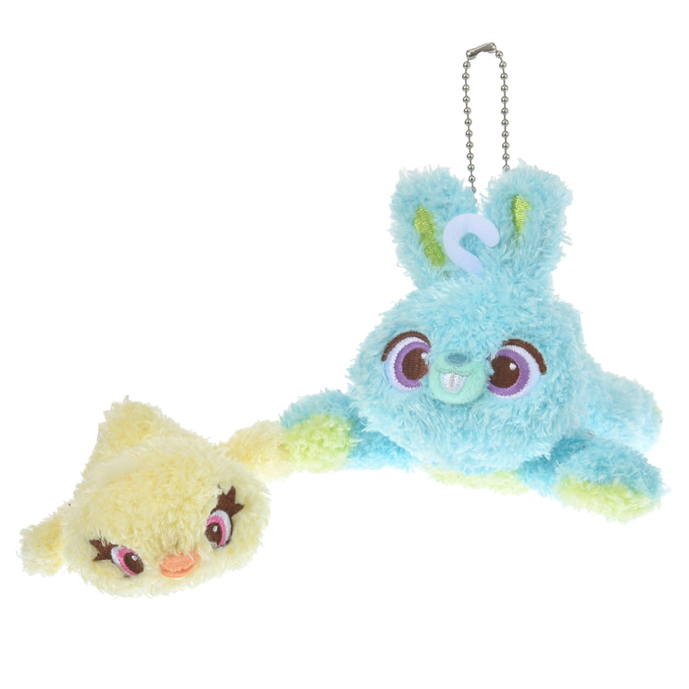 Toy Story Bunny & Ducky Plush Keychain Candy Color Disney Store Japan 2021