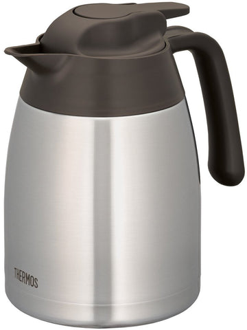 Thermos Stainless Pot 1L Brown THV-1001 SBW Japan