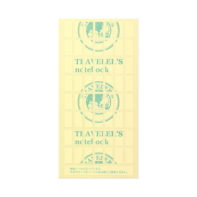 Traveler's Notebook Japan Regular Size Refill 010 Double-Sided Stickers 14303006