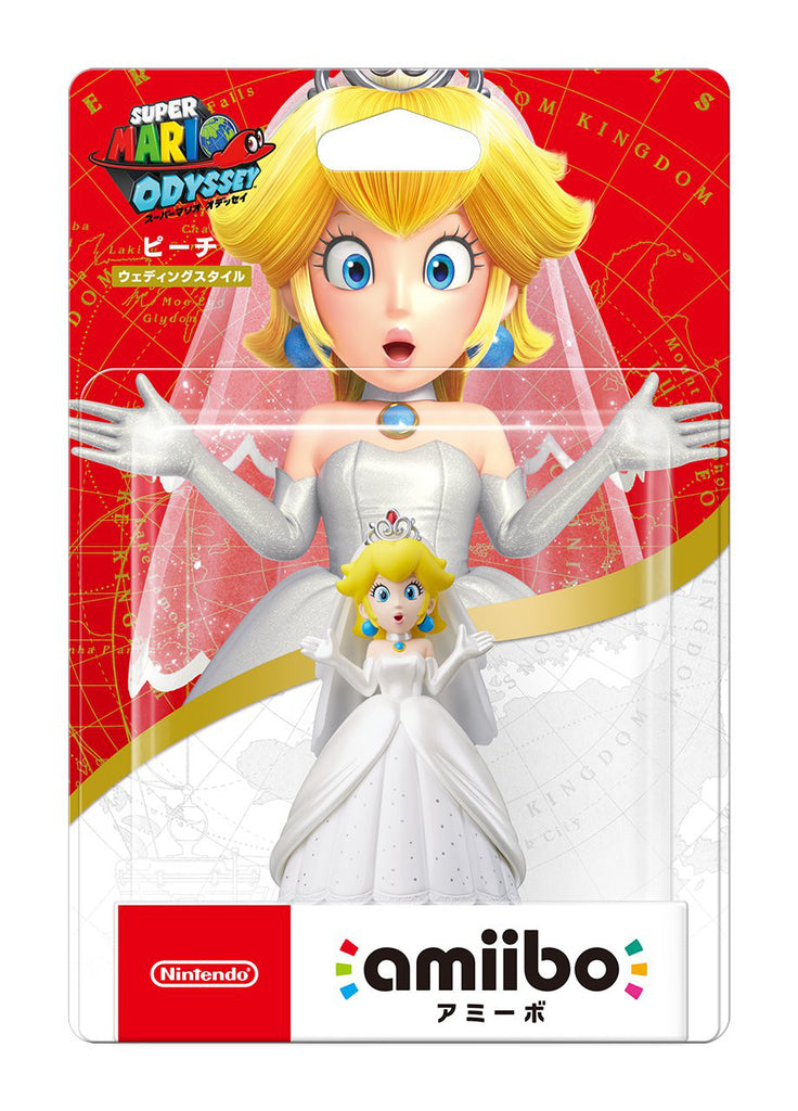 amiibo Peach Wedding Style Super Mario Series Nintendo 3DS wii U