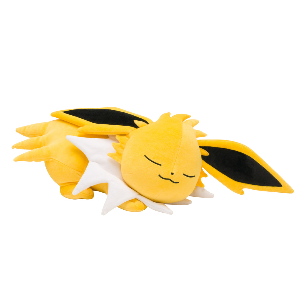 Jolteon Thunders Plush Doll Suyasuya Sleeping Pokemon Center Japan