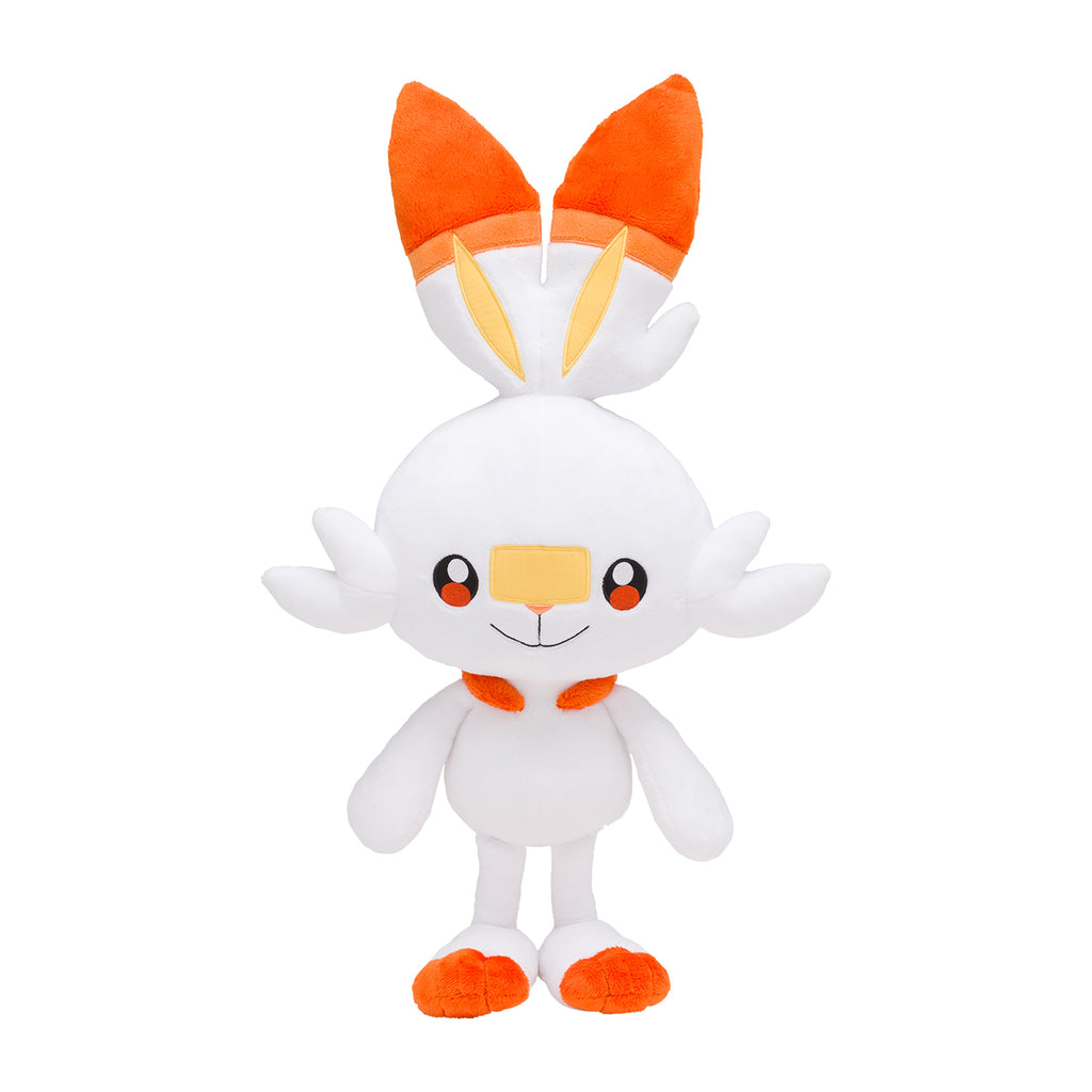 Scorbunny Hibanny Big Plush Doll Life-size Sword Shield Pokemon Center Japan
