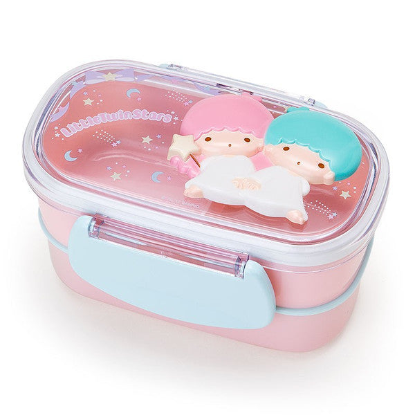 Little Twin Stars 2stage Lunch Box Bento Relief Sanrio Japan Kiki Lala