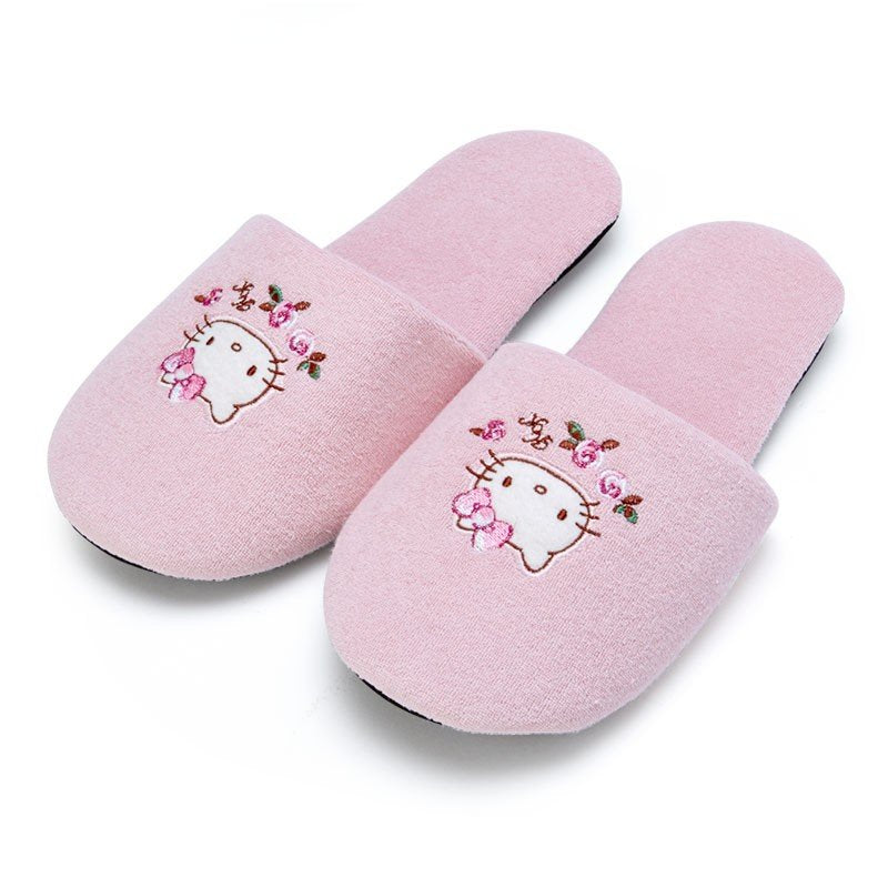 Hello Kitty Slipper Lace Pink Sanrio Japan