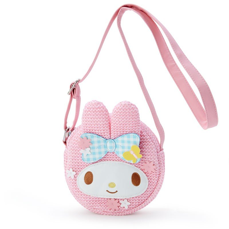 My Melody Kids Pochette Bag Basket Style Sanrio Japan