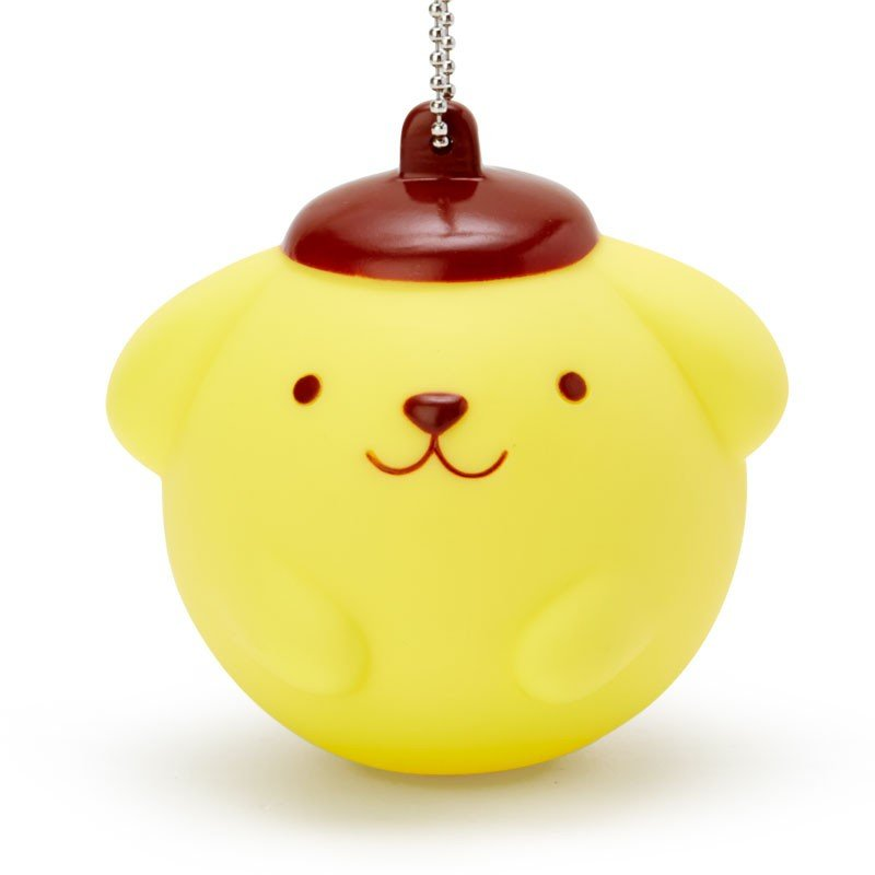 Pom Pom Purin Mascot Holder Keychain Mugyu Crying Sanrio Japan