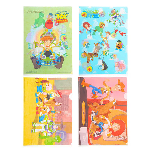Toy Story Clear File Folder Pixar Collection Disney Store Japan