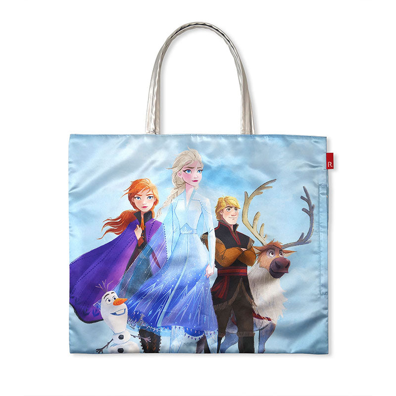 Frozen 2 ROOTOTE Big Tote Bag Sax Blue Disney Store Japan