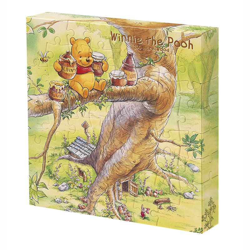 Winnie the Pooh Canvas Puzzle Hunny Disney Store Japan 56 pieces