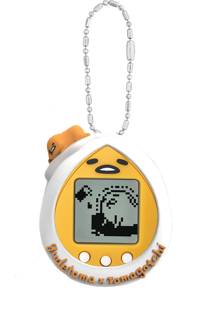 Gudetama Tamagotchi with Cover Egg ver. Sanrio Japan Bandai Toy