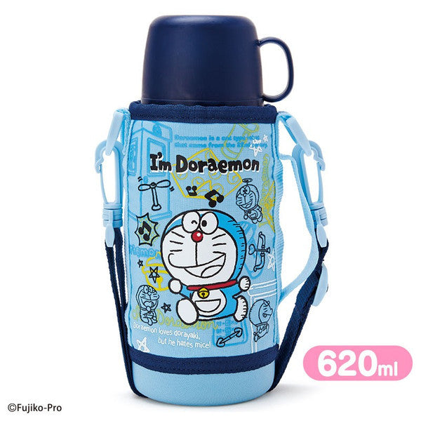 2WAY Stainless Bottle Tumbler I'm DORAEMON 670ml Sanrio Japan