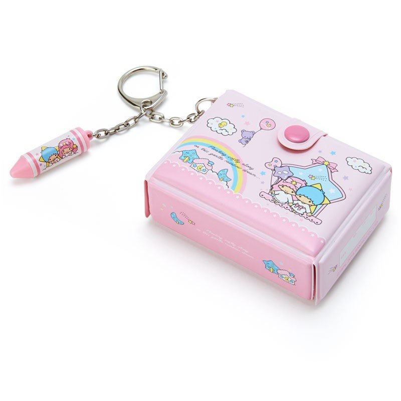 Little Twin Stars Kiki Lala Keychain Key Holder Tool Box shape Sanrio Japan