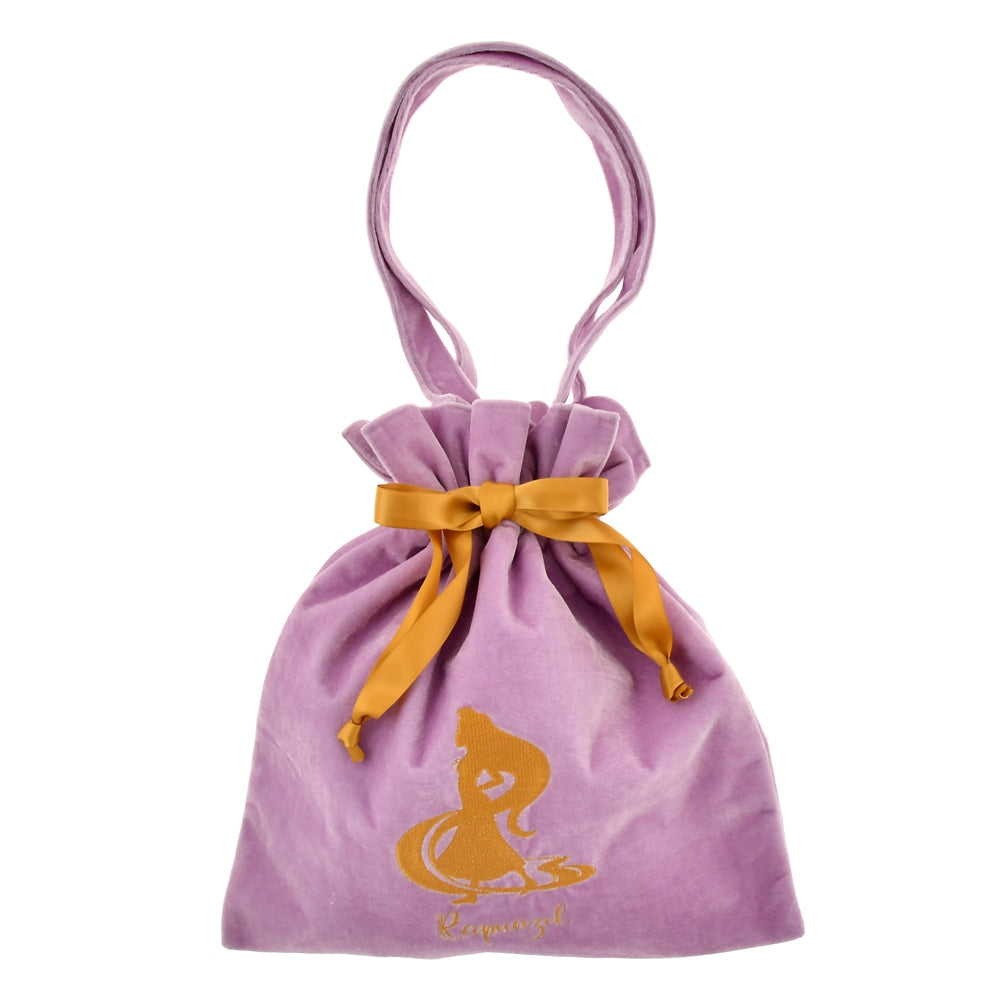 Rapunzel Drawstring Tote Bag Tangled 10 Years Disney Store Japan