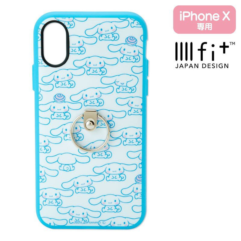 Cinnamoroll iPhone X / XS Case Cover with Ring IIIIfi+ Sanrio Japan