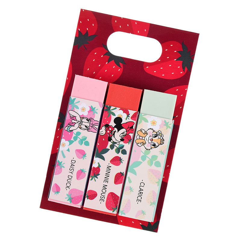 Minnie Clarice Daisy Eraser Strawberry Ichigo Zakka Disney Store Japan