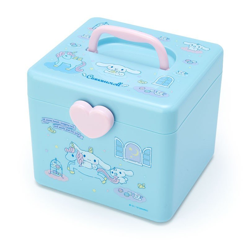 Cinnamoroll Storage Box M with Handle Sanrio Japan