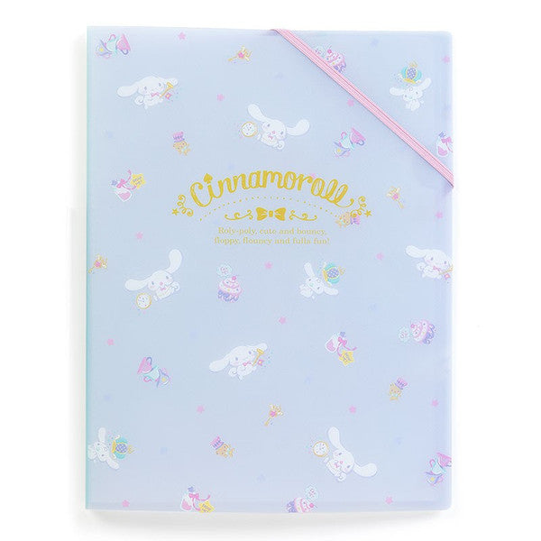 Cinnamoroll A4 Clear File Holder In Happiness Girl Sanrio Japan