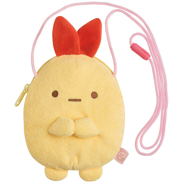 Sumikko Gurashi Fried Shrimp Ebifurai Pochette Bag minikko to asobo San-X Japan