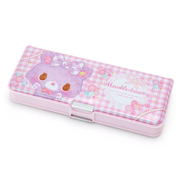 Mewkledreamy 2 Side Opening Pen Case Plaid Sanrio Japan