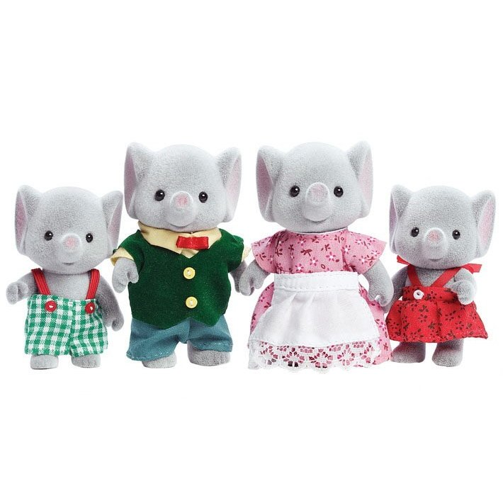 Sylvanian Families Elephant family Doll Set CC1570 US ver. EPOCH