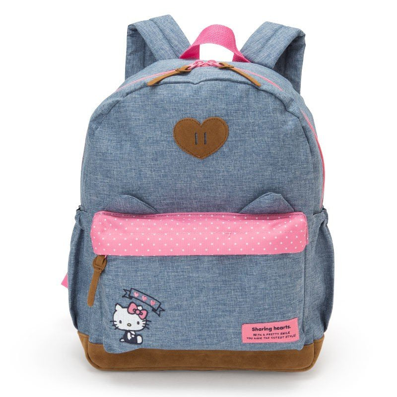 Hello Kitty Kids Backpack L Ear Sanrio Japan 2019